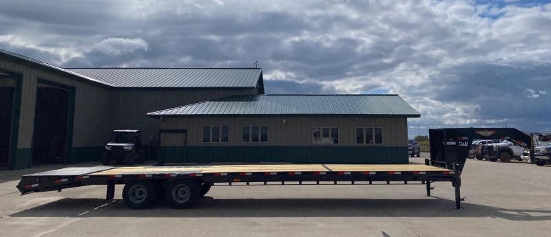 2021 H and H Trailer 35' Tandem Dual G-neck Flatbed Trailer