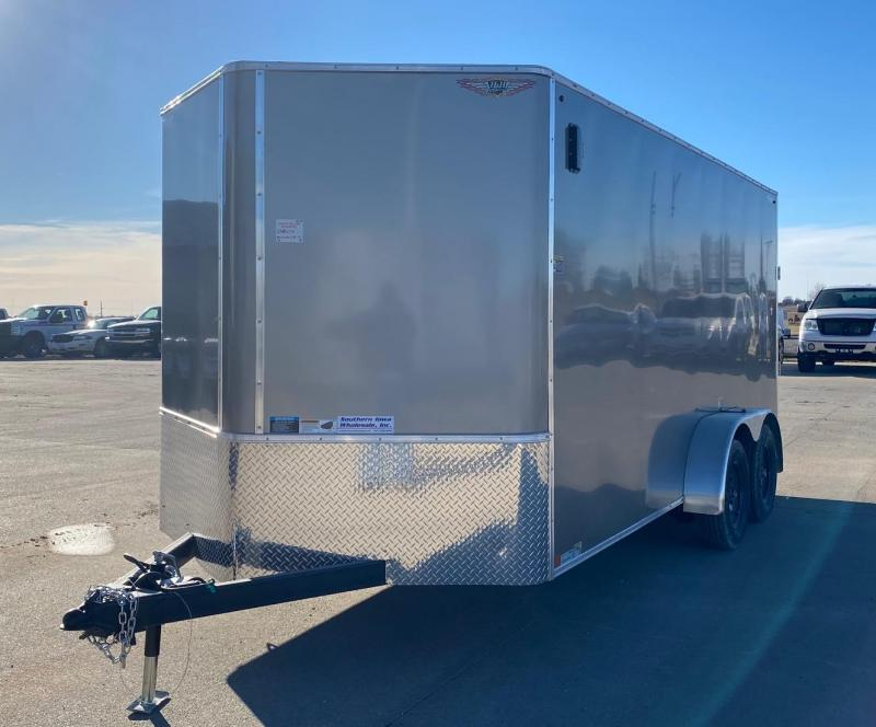 "2021 H and H Trailer 7'x16'x6'6"" Enclosed Cargo Trailer"