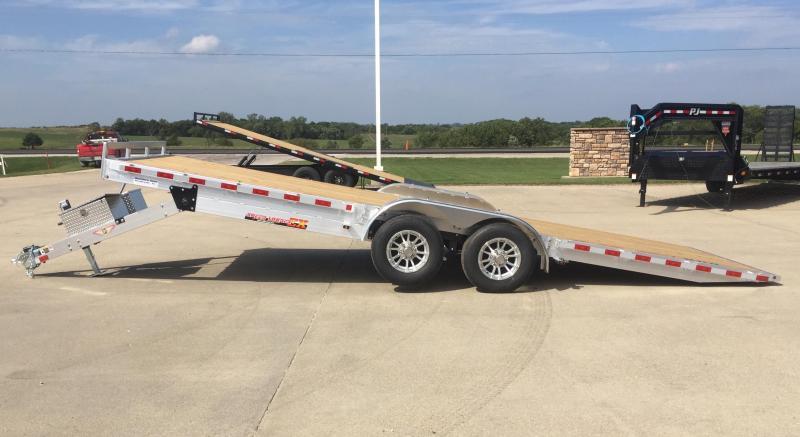 2021 H and H Trailer Aluminum 22' Speedloader 10k Car / Racing Trailer