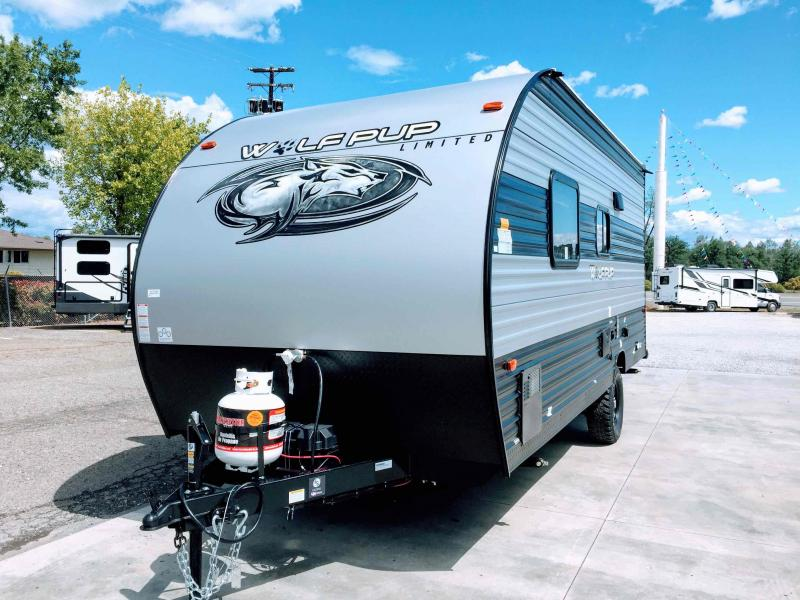 2021 Forest River Cherokee Wolf Pup 16FQ Travel Trailer RV