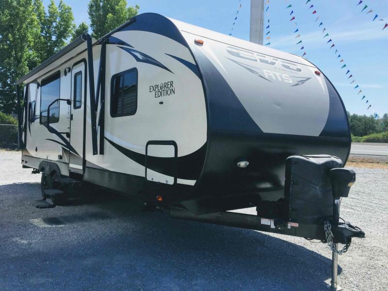 2016 Forest River Evo ATS Explorer Edition 240RKS Travel Trailer RV