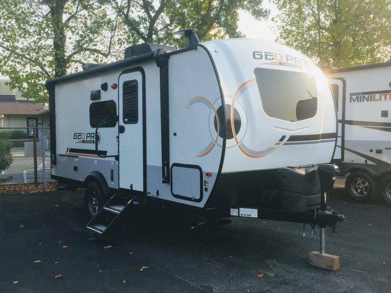 2022 Forest River Rockwood Geo Pro 19BH Travel Trailer RV