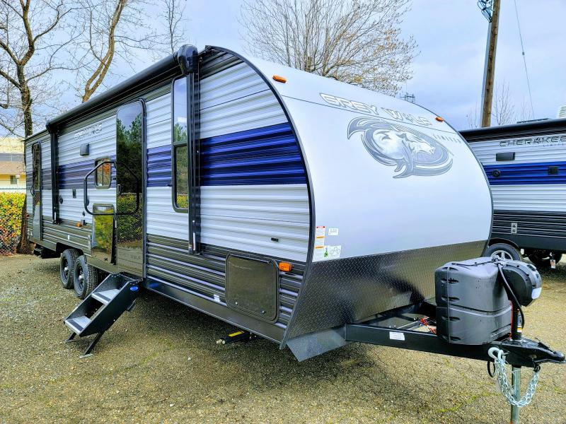 2021 Forest River Cherokee Grey Wolf 26DBH Travel Trailer RV