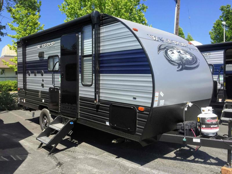 2021 Forest River Wolf Pup 16PF Travel Trailer RV