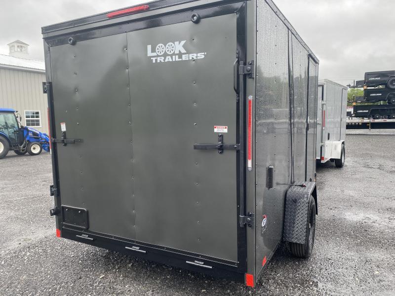 2021 Look Trailers DLX712 Enclosed Cargo Trailer