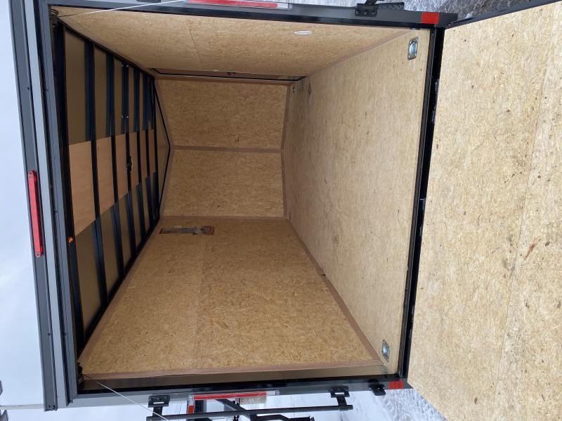 2021 Look Trailers 714DLX Blackout cargo trailer