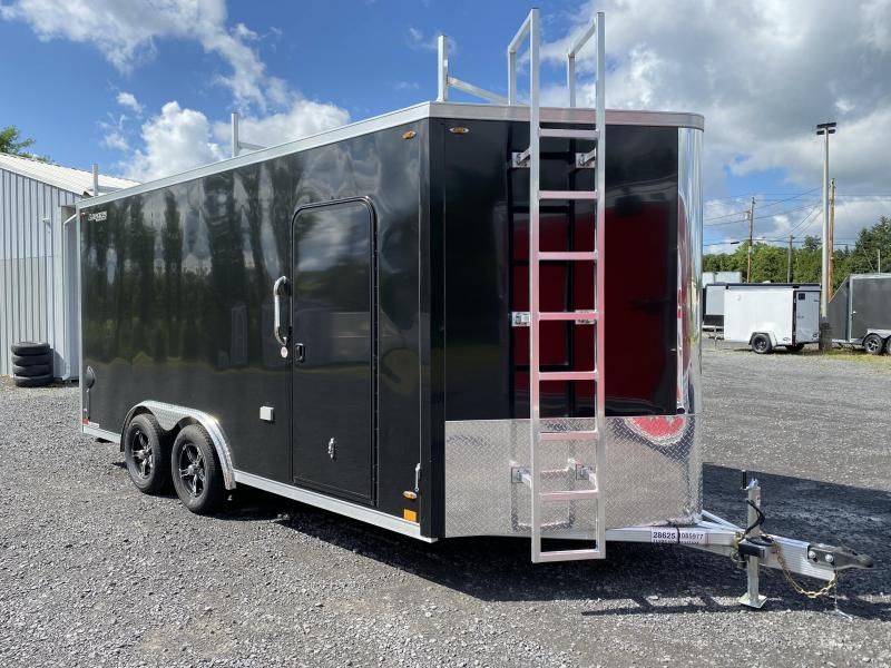 2021 Legend DVN Deluxe 7 X 19 Enclosed Cargo Trailer with 110v 7 ft Height