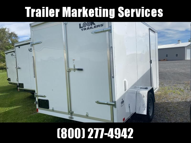 2022 Look Trailers Lsca7.0x12 Cargo / Enclosed Trailer