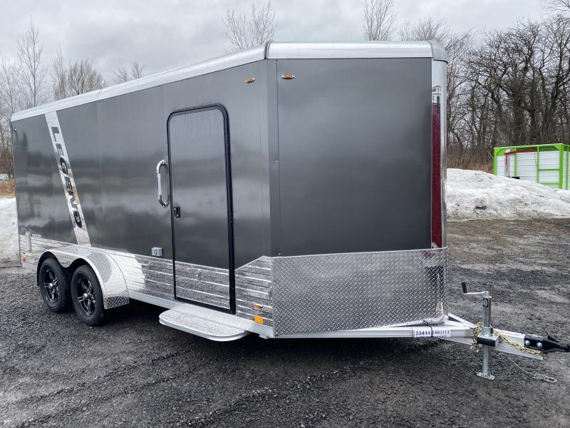 2021 Legend DVN Deluxe 7 X 19 Enclosed Cargo Trailewith 110v
