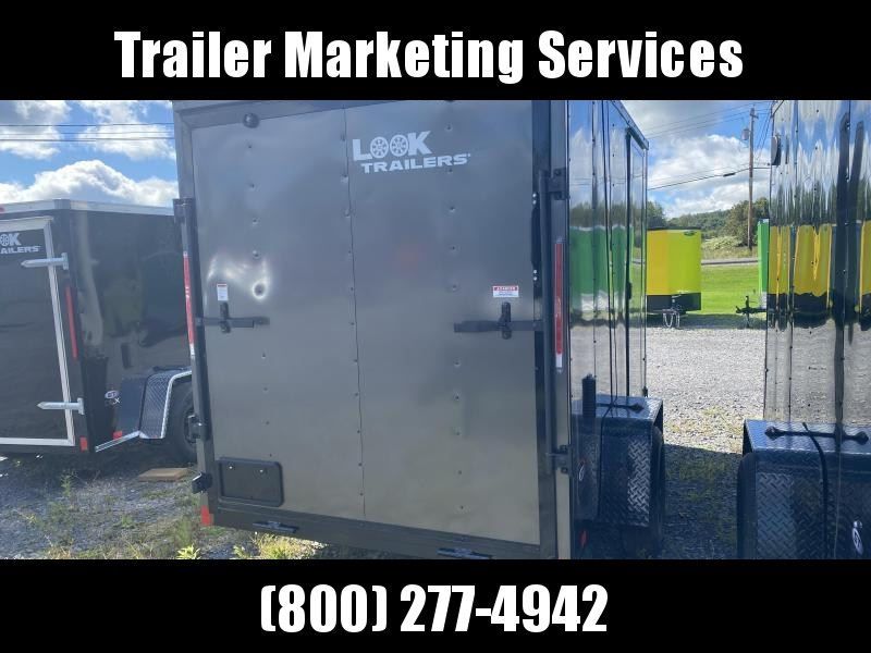2022 Look Trailers Lsca6.0x10 Cargo / Enclosed Trailer