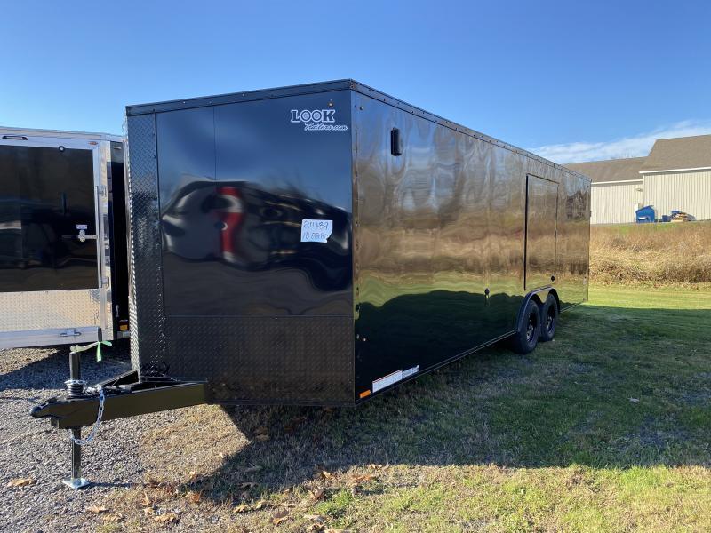 2021 Look Trailers Element 24/10k Car / Racing Trailer
