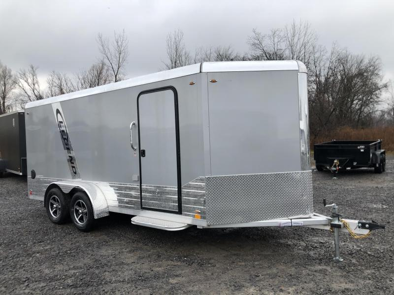 2020 Legend DVN Deluxe 7 X 19 Enclosed Cargo Trailewith 110v