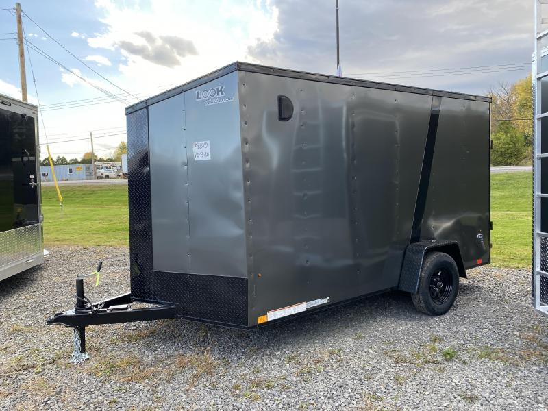 2021 Look 7x12DLX black out trailer