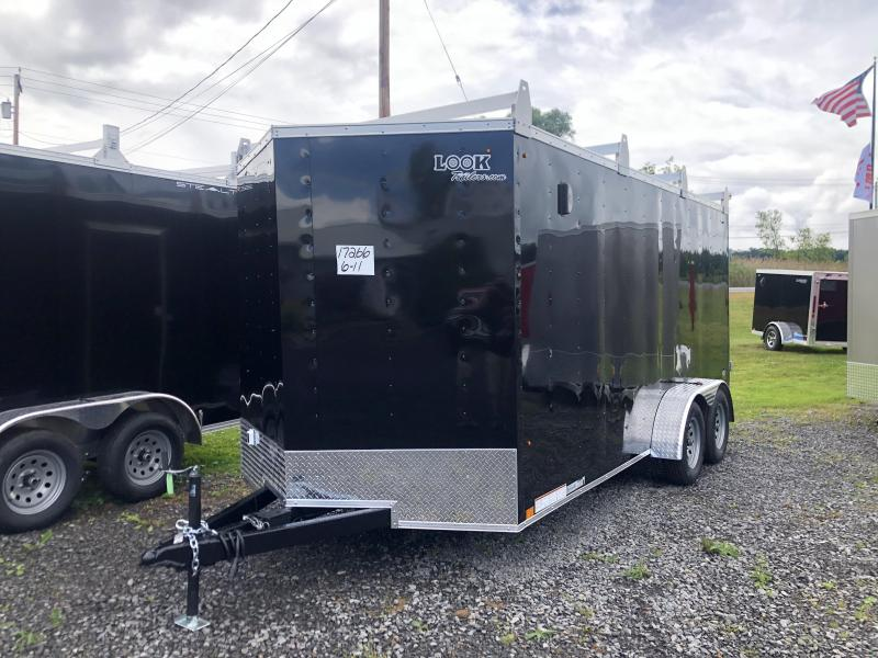 2021 Look Trailers 7x16 DLX Contractors Enclosed Cargo Trailer