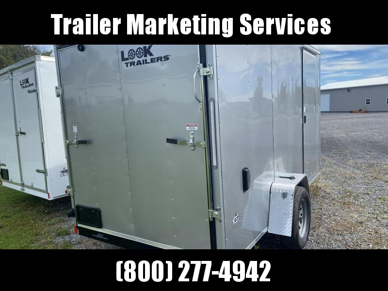 2022 Look Trailers Lsca6.0x12 Cargo / Enclosed Trailer