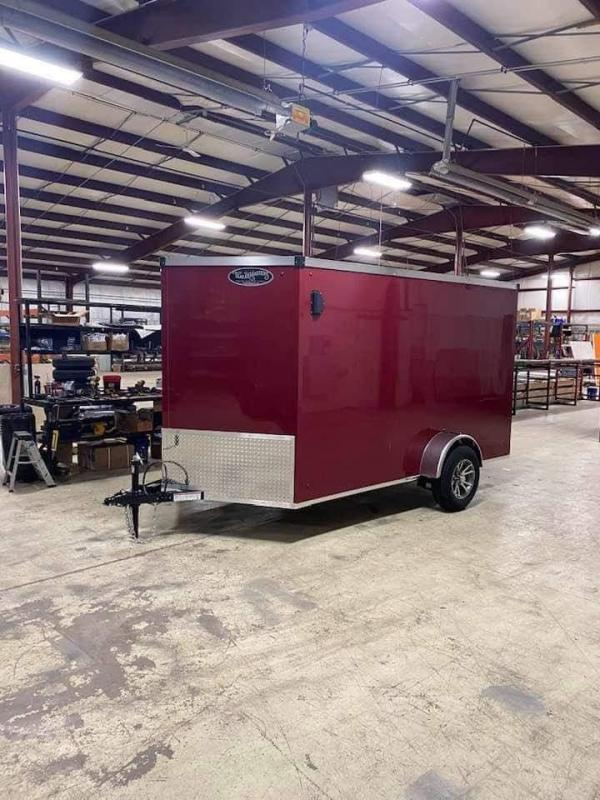 2021 Trailermaster TM712 Cargo / Enclosed Trailer