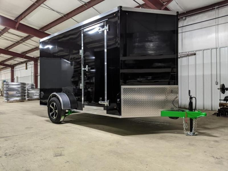 2021 Trailer Masters TM712 Cargo / Enclosed Trailer