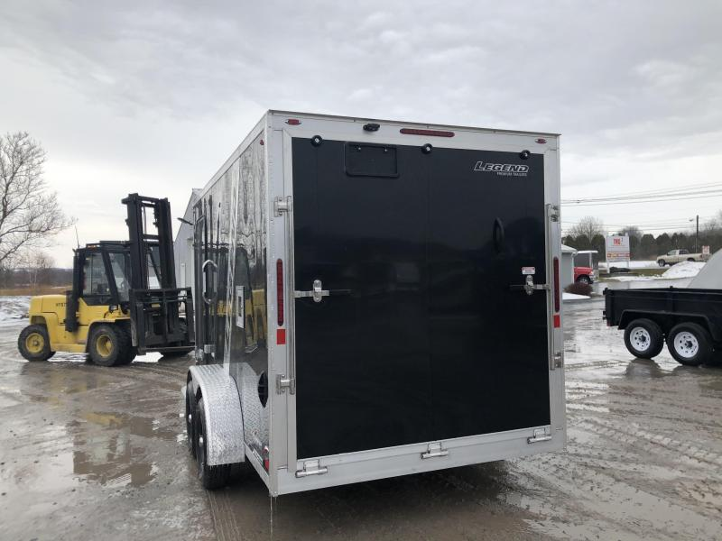2020 Legend Explorer 2 Place 7 X 19 Inline Snowmobile Trailer