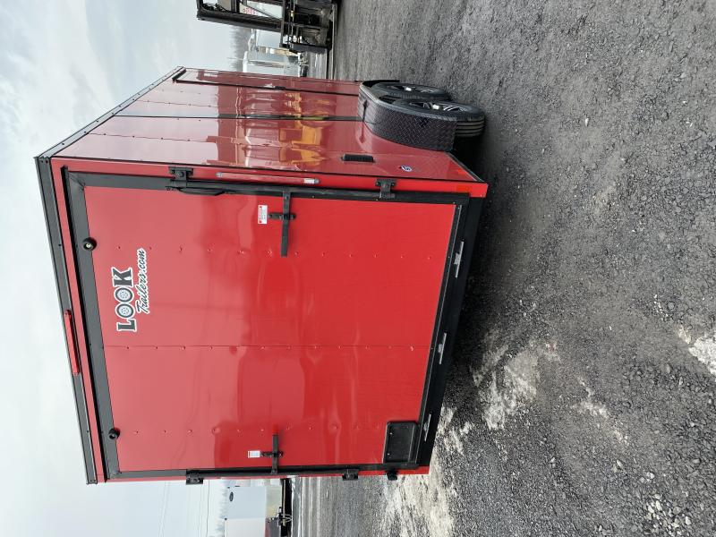 2021 Look Trailers Dlx714-7ft Cargo / Enclosed Trailer