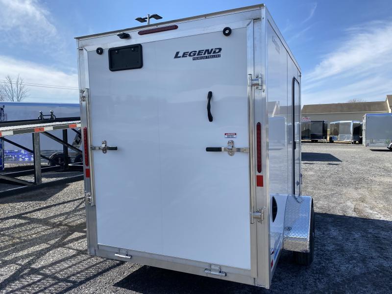 2022 Legend Trailers Thunder 6x11 Cargo / Enclosed Trailer