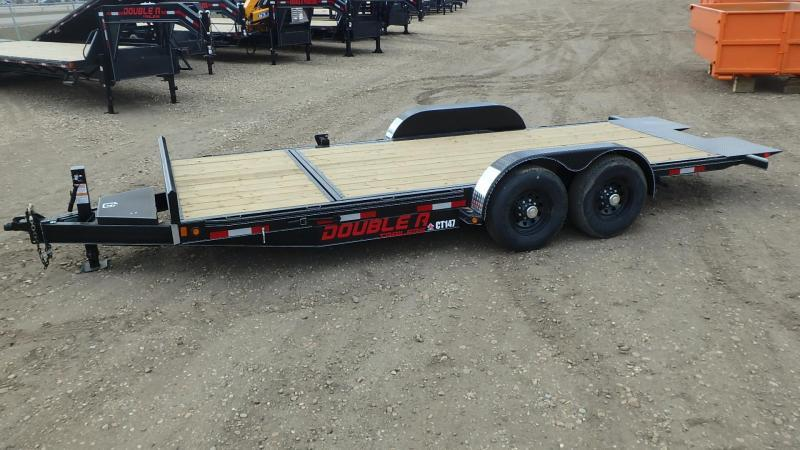 "2020 Double A 83"" x 20' Cushion Tilt Equipment Trailer (14000lb GVWR)"