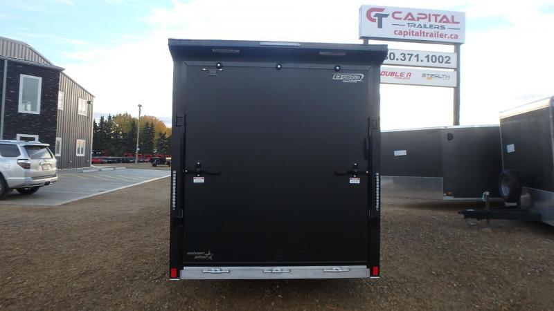 2022 Bravo 7FT X 16FT  Silver Star Aluminum Enclosed Cargo Trailers