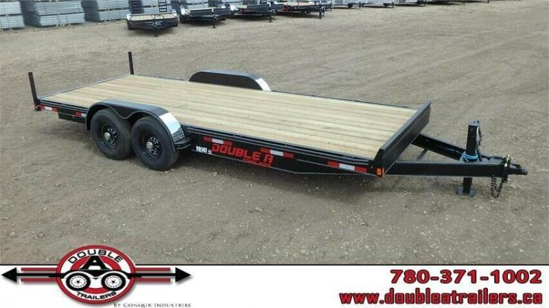 "2019 Double A 83"" x 18FT Pro Series Equipment Trailer (14000lb GVWR)"