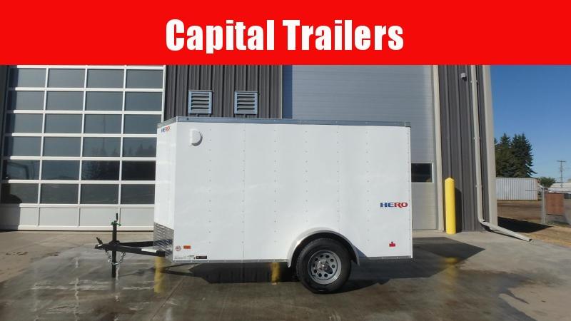2021 Bravo Trailers 5FT x 10FT Enclosed Cargo Trailer (3500LB GVW) Enclosed Cargo Trailer