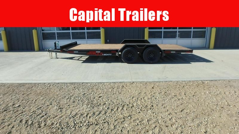 "2022 Double A Trailers Carhauler Trailer - 83"" x 18' (7000 GVW) Equipment Trailer"
