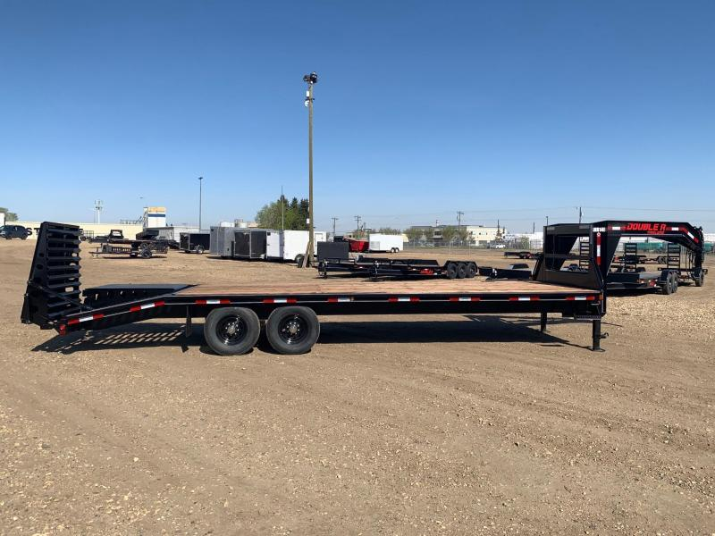 """2020 Double A Trailers 102"""" x 26FT Gooseneck Highboy Trail Equipment Trailer"""