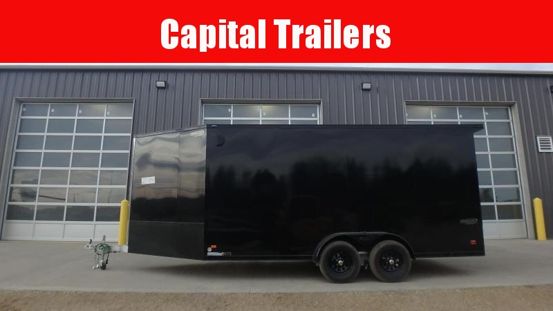 2022 Bravo 7FT X 16FT + 5FT Drive Off Silver Star  Aluminum Enclosed Cargo Trailers
