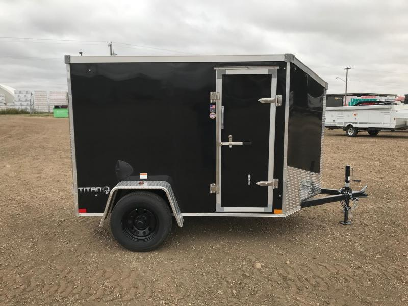 2021 Stealth Trailers Titan 5FT x 8FT 3500LB GVW Enclosed Cargo Trailer