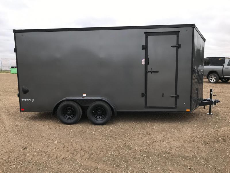 2021 Stealth Trailers Titan Series 7FT x 16FT (7000LB GVW) Enclosed Cargo Trailer