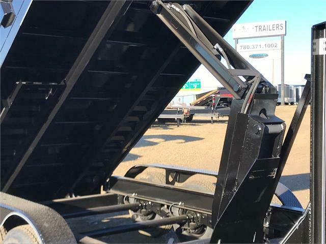 "2021 Double A, 83"" x 16FT Gooseneck Tri Axle Dump Trailer (21,000LB GVW)"