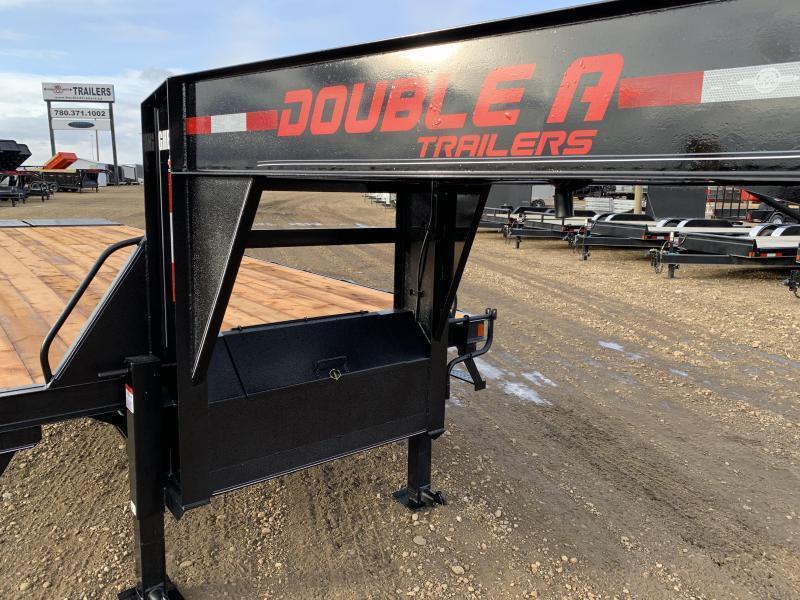 """2020 Double A 102"""" x 30FT Gooseneck Trailer (22000LB GVW)"""