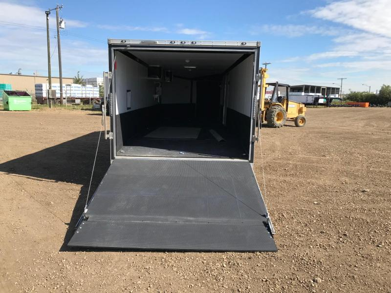 2020 Stealth Trailers 8.5FT X 29FT Aluminum Snowmobile Trailer