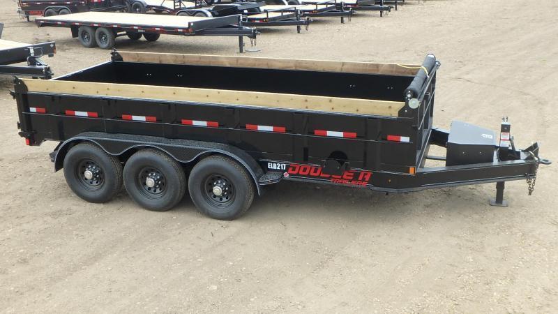 "2021 Double A 83"" x 16' Tri axle Dump Trailer (21000LB GVWR)"