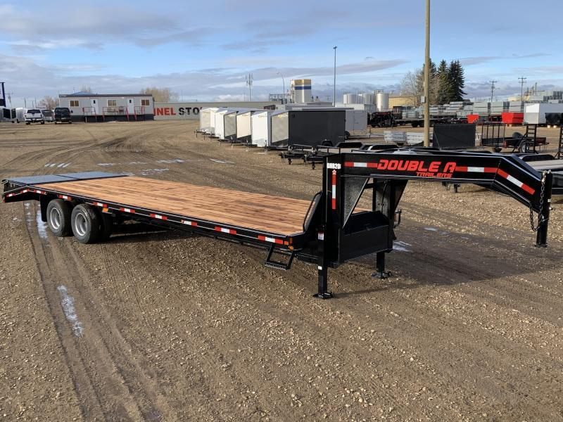 "2020 Double A 102"" x 30FT Gooseneck Trailer (22000LB GVW)"
