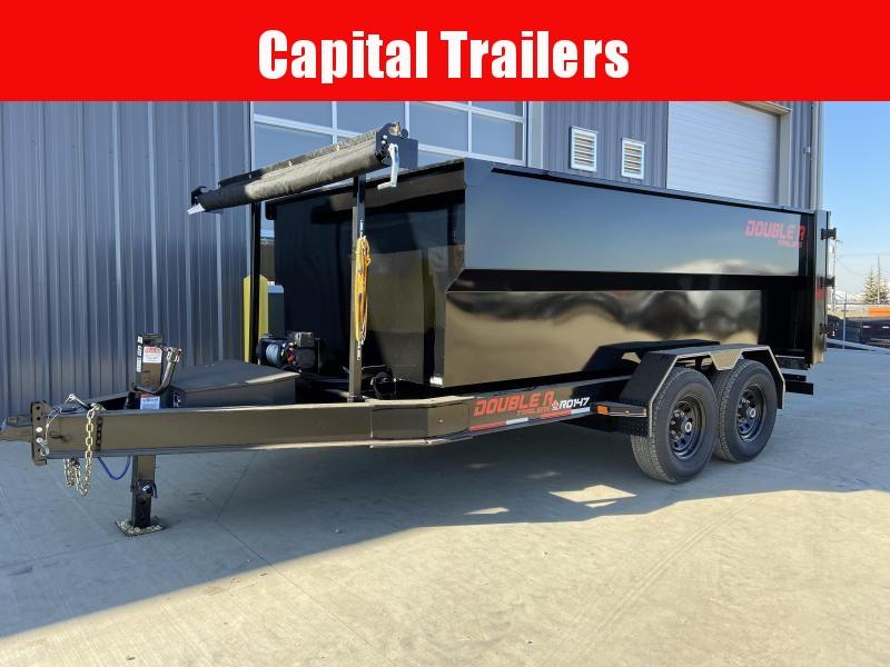 "2022 Double A Trailers Roll Off Dump Trailer 83"" x 14' (14000LB GVW) Dump Trailer"
