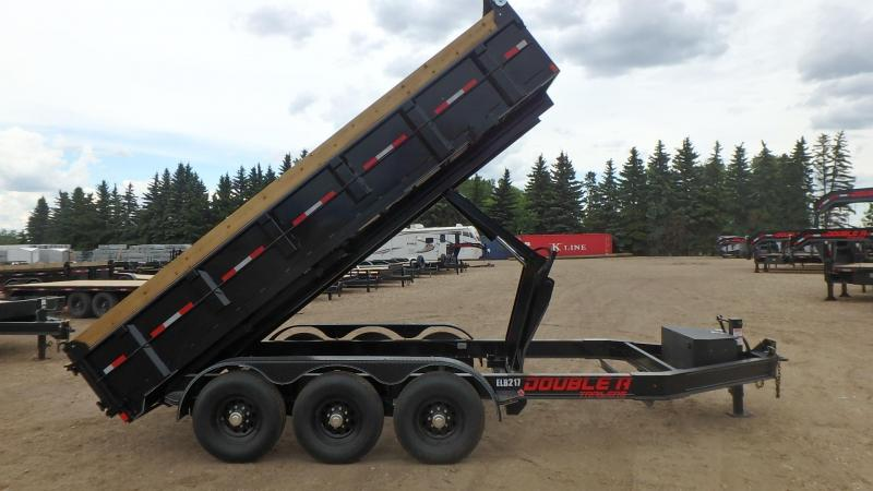 "2020 Double A 83"" x 16' Tri axle Dump Trailer (21000LB GVWR)"