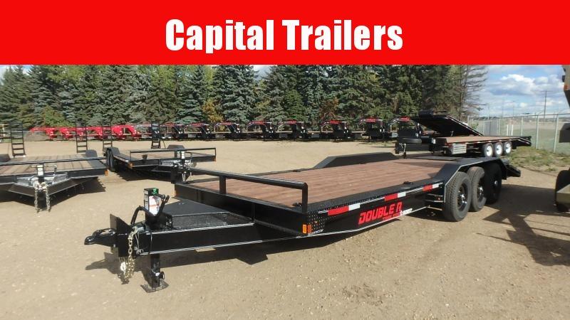 "2021 Double A Trailers Equipment Trailer 83"" x 24' (21000LB GVW) Equipment Trailer"
