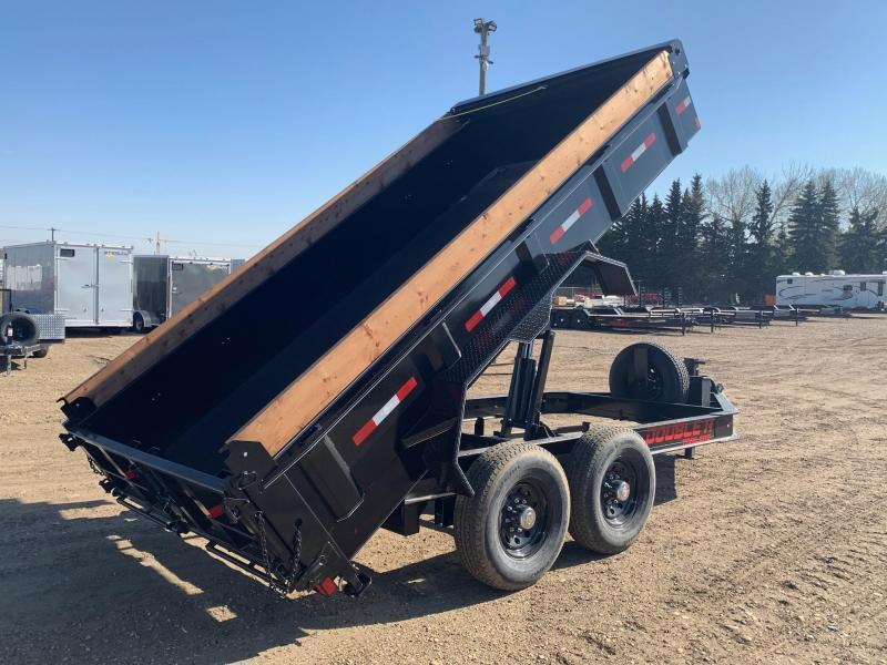"2021 Double A Trailers 83"" x 14FT Tandem Axle Dump Trailer (14000LB GVW) Dump Trailer"
