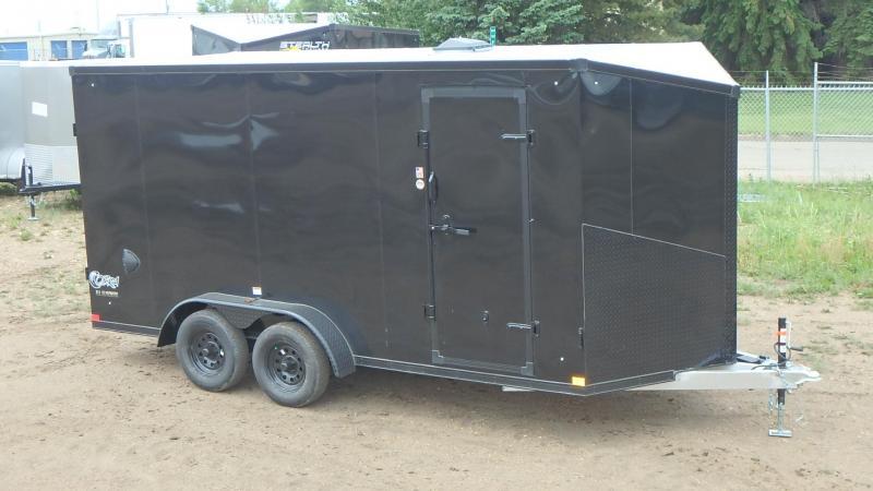 2022 Stealth Trailers 7FT x 16FT Aluminum Enclosed Cargo (7000LB GVW) Enclosed Cargo Trailer