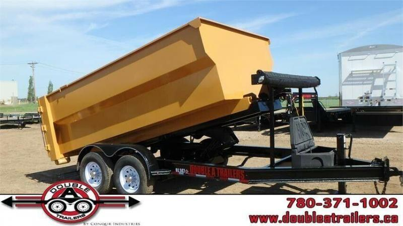 2021 Double A 14FT Roll-Off Dump Trailer (14000lb GVWR)