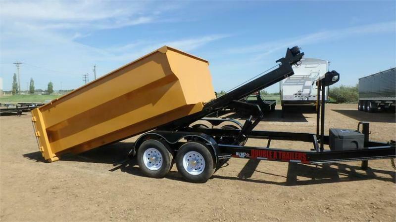 2021 Double A 14FT Roll-Off Dump Trailer (14000lb GVWR)