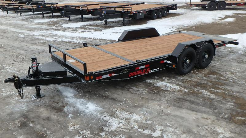 "2021 Double A 83"" x 20' Cushion Tilt Equipment Trailer (14000lb GVWR)"
