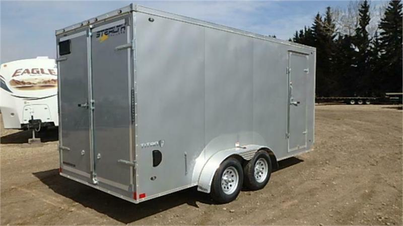 2020 Stealth Titan 7 x 16 TA Enclosed Cargo Trailer (7000lb GVWR)