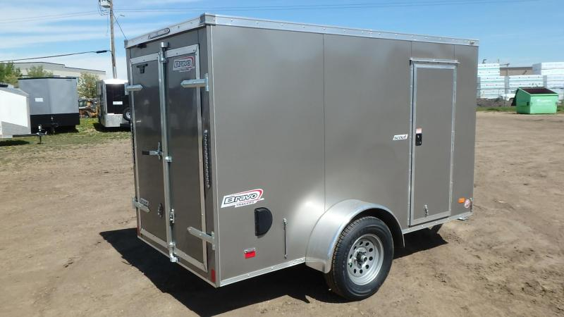 2021 Bravo Trailers 5FT x 10FT Enclosed Cargo (3500LB GVW) Enclosed Cargo Trailer