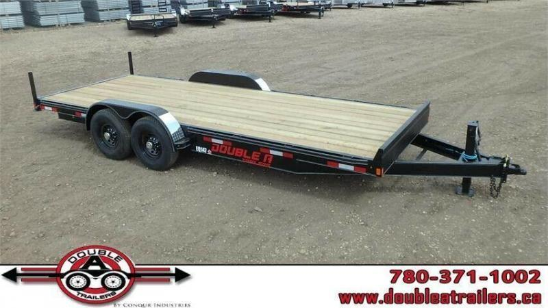 "2019 Double A 83"" x 20FT Pro Series Equipment Trailer (14000lb GVWR)"