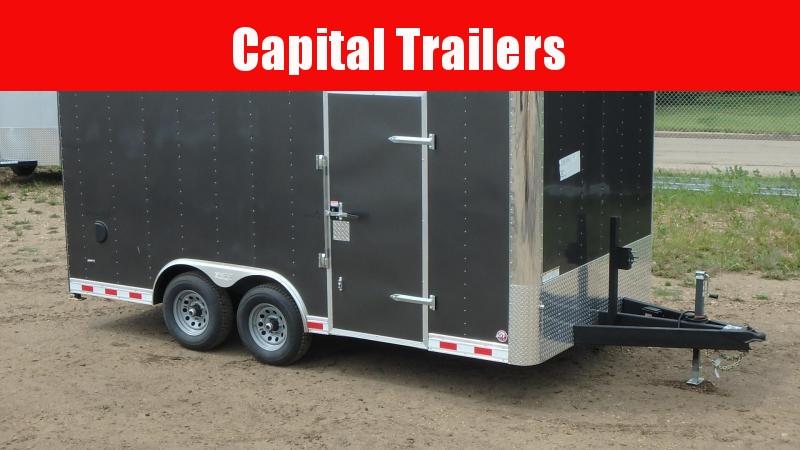 2021 Bravo Trailers 8.5FT x 16FT Landscape Cargo (10400LB GVW) Enclosed Trailer